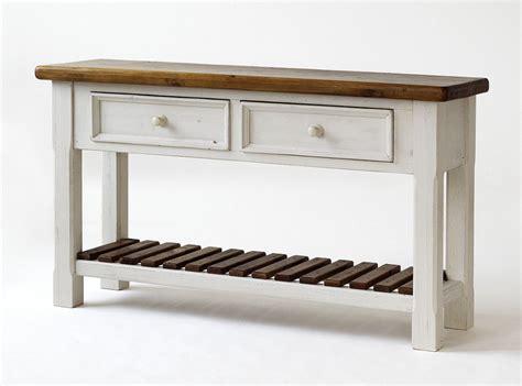 Massivholz Anrichte Sideboard Shabby Vintage Beistelltisch