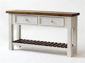 Beistelltisch Weiß Vintage : massivholz anrichte sideboard shabby vintage beistelltisch kiefer wei honig ~ Yasmunasinghe.com Haus und Dekorationen