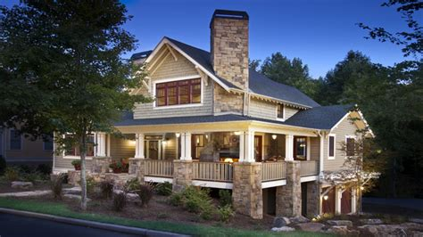 craftsman style architecture craftsman home  wrap  porch craftsman country house