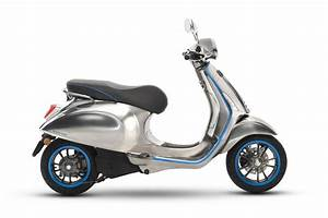 Vespa Electric Scooter Arrives Next Year With 62 Miles Of ...
