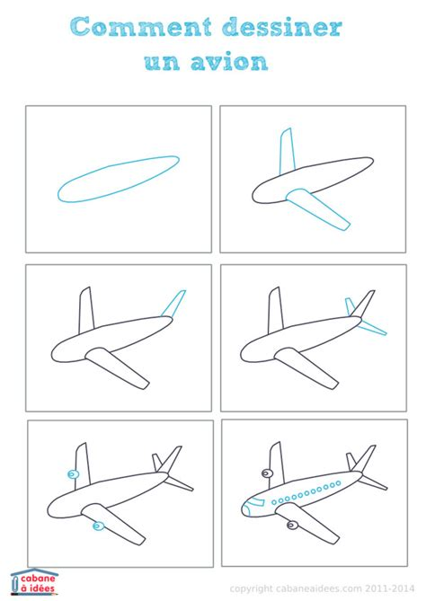 comment dessiner une cabane dessiner un avion cabane 224 id 233 es