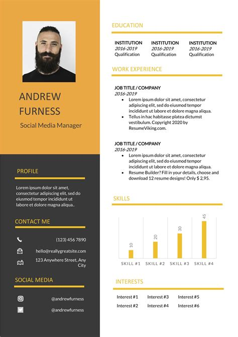 This customizable resume can be. Orange is the New Black Resume design | Good resume ...