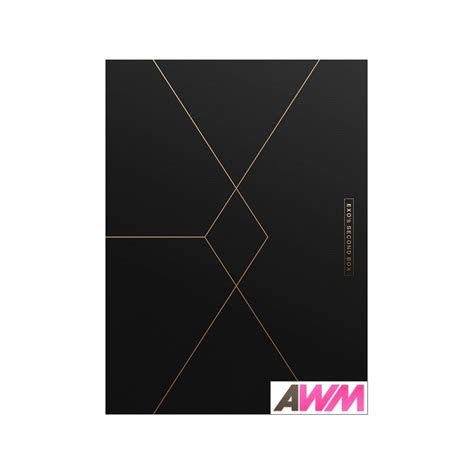 exo second box exo 엑소 exo s second box 4dvd 233 dition cor 233 enne