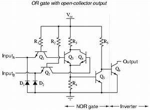 ttl nor and or gates logic gates electronics textbook With xor gate circuit