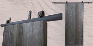 Rail Porte Coulissante Exterieure : portes coulissantes en galandage ou en applique ~ Dallasstarsshop.com Idées de Décoration