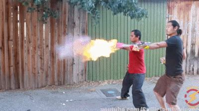 DIY: Punch Activated Arm Flamethrowers - Cool Wearable