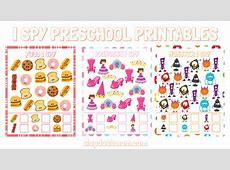 Free I Spy Preschool Printables – Slap Dash Mom