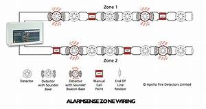 Cfp Alarmsense 4 Zone Two-wire Fire Alarm Panel