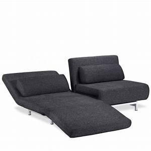 Petit canapé d'angle convertible 2 places