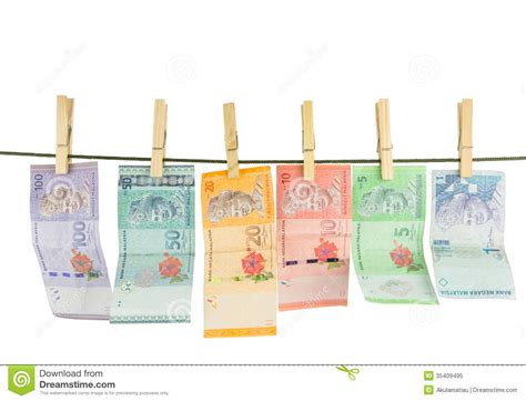 Malaysia Bank Notes Iv Stock Image. Image Of Clip