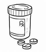 Pill Bottle Drawing Medication Prednisone Medicine Medical Non Switching Coloring Sketch Goes Happy Getdrawings Healthy Template sketch template