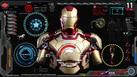 Iron Animated Wallpaper Hd - update iron jarvis desktop animated live