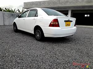 2001 U0026 39  Toyota Corolla Nze Japan For Sale  Roches Noires