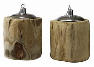 Kombiheizung öl Holz : tischfeuer rustik l lampe aus holz landhausstil windlicht ~ Articles-book.com Haus und Dekorationen