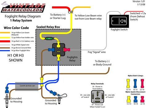 wiring fog lights without relay 31 wiring diagram images