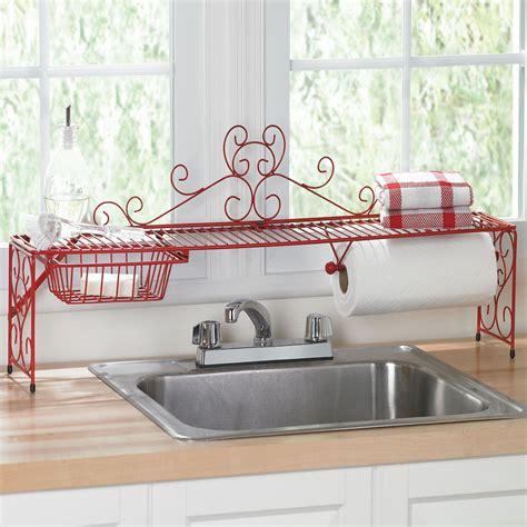 Scrolling Overthesink Shelf  Kitchen Organizers. Built In Kitchen Sink Soap Dispenser. Kitchen Sink Water Filter System. Kitchen Sink Equipment. Stainless Steel Kitchen Sink. Kitchen Sink Germs. Sink Designs Kitchen. Faucet For Sink In Kitchen. Ceramic Kitchen Sink