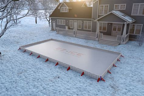 How To Make An Rink In Backyard by Backyard Hockey Rink Uncrate