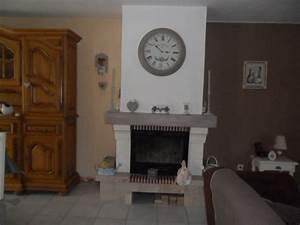 Peindre Des Briques De Cheminée : avant apres relooking de mon salon salle a manger ~ Farleysfitness.com Idées de Décoration