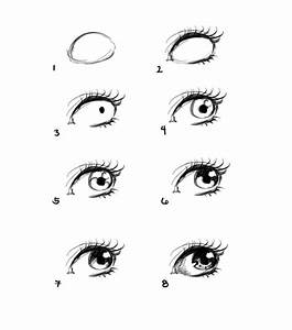 how to draw anime eyes step by step for beginners - # ...