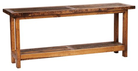 96 inch sofa table 5 foot rustic barnwood reclaimed wood sofa table 60 inch