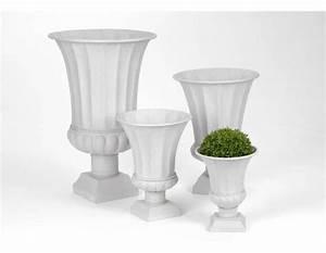 Grand Vase Blanc : grand vase medicis blanc par 4 ~ Preciouscoupons.com Idées de Décoration