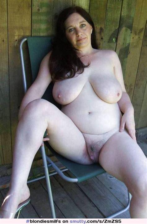 Amateur Mom Milf Mature Chubby Busty Outdoors