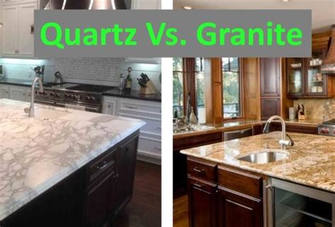 Vs Granite by Quartz Vs Granite Countertops A Geologist S Perspective