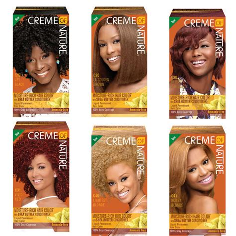 creme  nature liquid hair color  golden copper