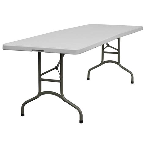 Lot Of 10 8ft Bifold Folding Banquet Catering Tables  Ebay