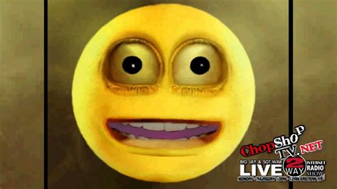 annoying smiley face talks chopshoptvnet youtube