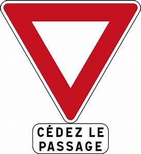Panneau de signalisation routière AB3a