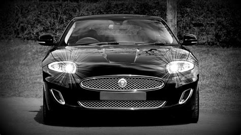 Grayscale Photo of a Black Sports Car Convertible · Free ...