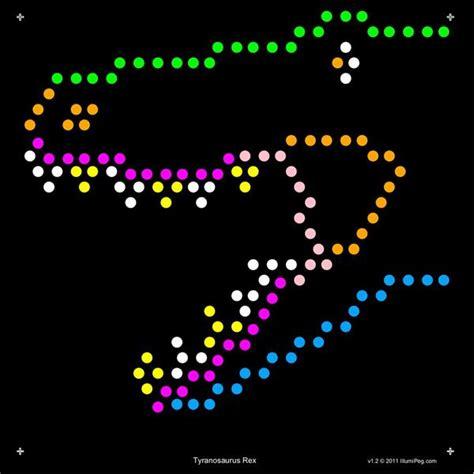 light bright cube lite brite template refills dinosaurs designs square