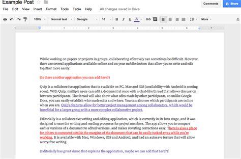 elon technology blog  collaborative writing