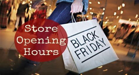 store hours for thanksgiving and black friday 2016