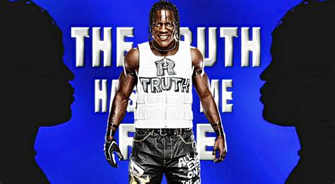 Wwe R Truth Background No Logo By Mrawesomewwe On Deviantart