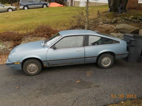 Purchase Used 1986 Chevy Cavalier Coupe Hatchback Style