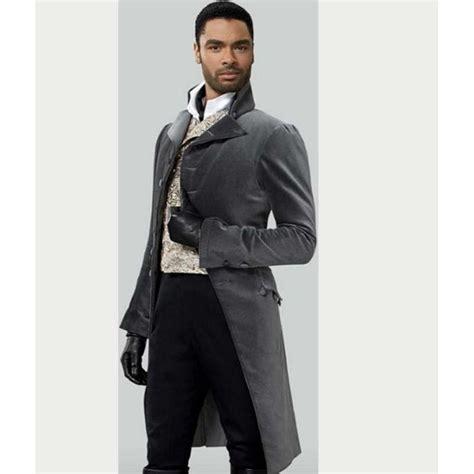Regé-Jean Page Bridgerton Simon Basset Grey Tailcoat