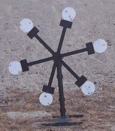 secure firearm products target system