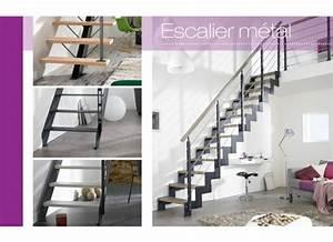 Rampe Escalier Lapeyre : o trouver le meilleur escalier gain de place ~ Carolinahurricanesstore.com Idées de Décoration