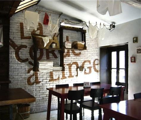 restaurant visit la corde a linge in strasbourg restaurant fireplaces and the white