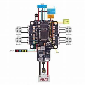 Cicada Aio Flight Controller  F4  30x4 Blheli S Dshot Esc