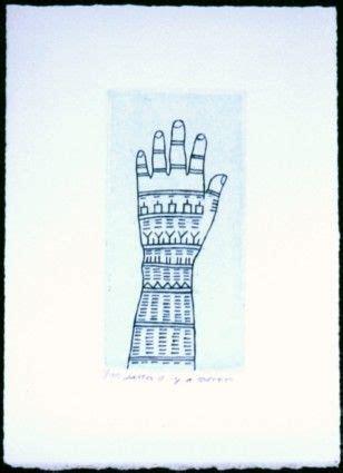 inuit tattoos fingers triple lines  tools black