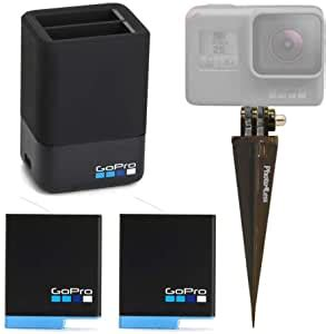amazoncom gopro dual lithium ion battery charger