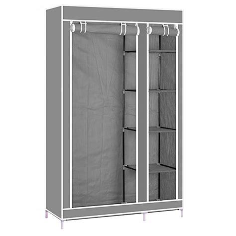 Buy Wardrobe Closet by Buy White Label Portable Wardrobe Closet Grey