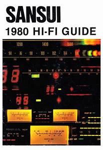 Sansui Hifi Guide - Product Catalogue
