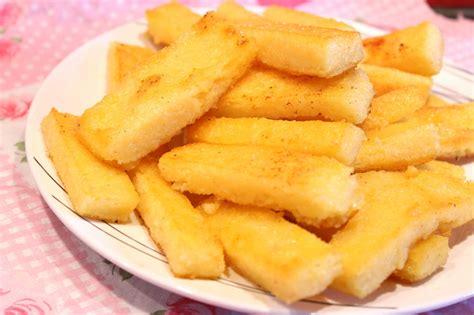 cuisiner la polenta frites de polenta au four ou à la poêle pour ceux qui