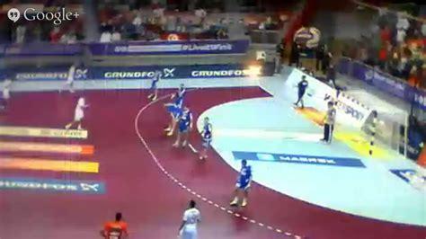 tunisie  croatie coupe du monde handball  youtube