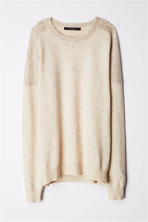 anthropologie sweaters anthropologie sequin dusted sweater in lyst