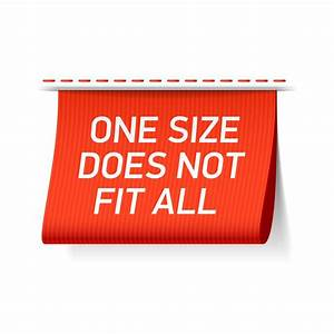 One Fits All Matratze : personalisation is not a fad why the one size fits all is ~ Michelbontemps.com Haus und Dekorationen